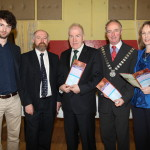 Representatives of Cork & Kerry County Councils with Minister Deenihan