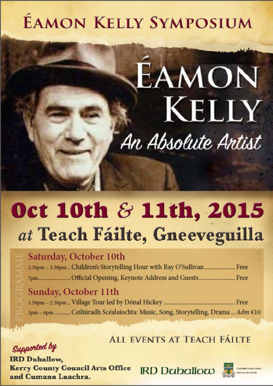Eamon Kelly Symp
